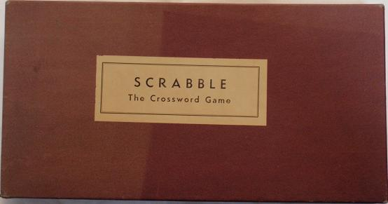 Scrabble box, Dec 1948 to mid 1949