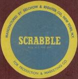1955 SCRABBLE sticker  (click to enlarge.)