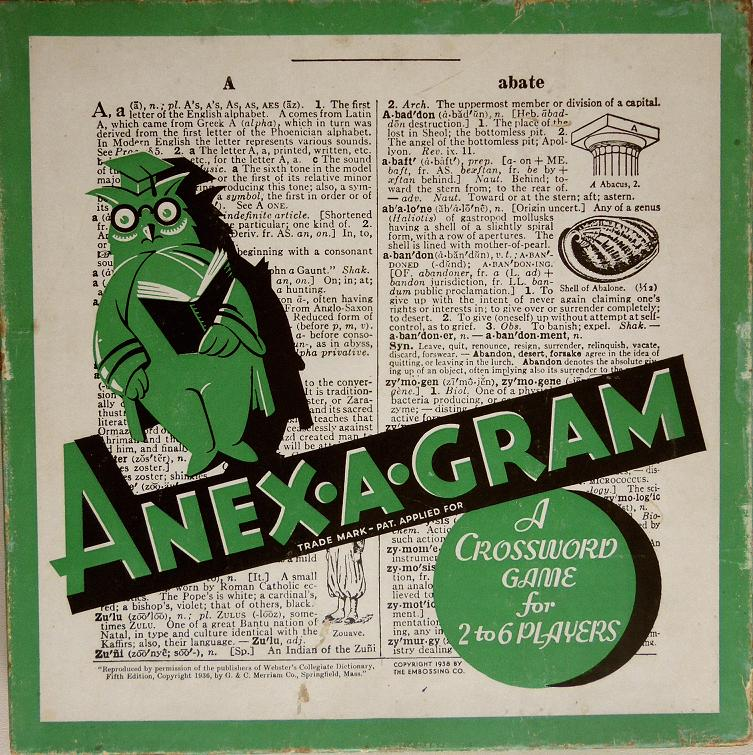 Anex-A-Gram box top.
