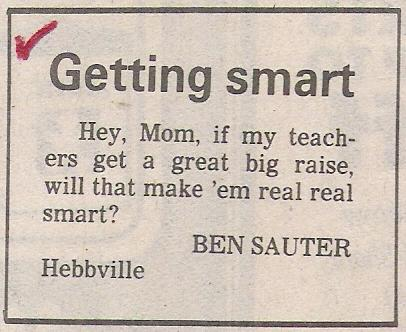 Letter to editor - Getting Smart.