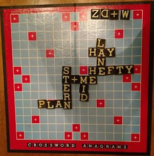 Crossword Anagrams game, round 3.