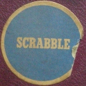 Scrabble box top sticker, ? to April 1950 (click to enlarge.)