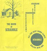 1950 pamphlet - All the best word games rolled into one (click to enlarge.)