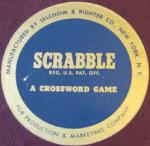 SCRABBLE sticker 1960? (click to enlarge.)