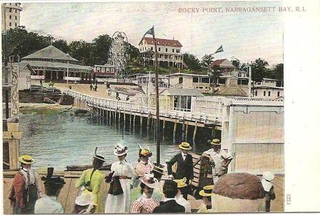 Trip To Rocky Point with vintage post cards